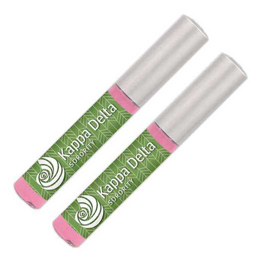 GRK-KD-2LGBG: Lip gloss soft pink sheer smooth and shiny