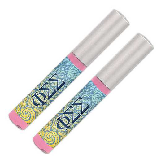 GRK-PSS-2LGBG: Lip gloss soft pink sheer smooth and shiny