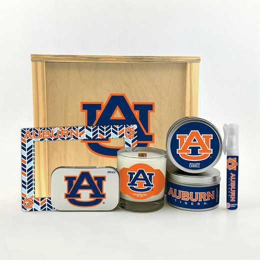 AL-AU-HWGK: Auburn Tigers House-Warming Gift Box (6 Pieces)