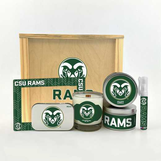 CO-CSU-HWGK: Colorado State Rams House-Warming Gift Box (6 Pieces)