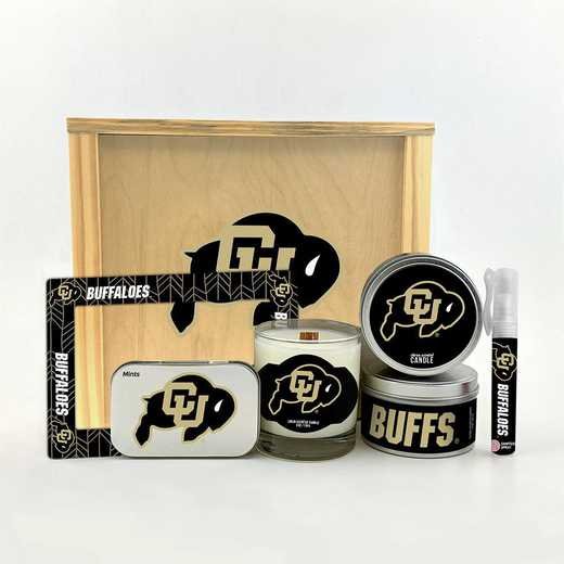 CO-UC-HWGK: Colorado Buffaloes House-Warming Gift Box (6 Pieces)