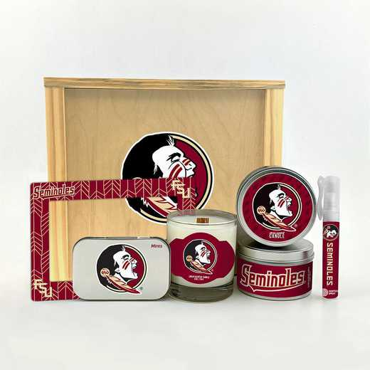 FL-FSU-HWGK: Florida State Seminoles House-Warming Gift Box (6 Pieces)