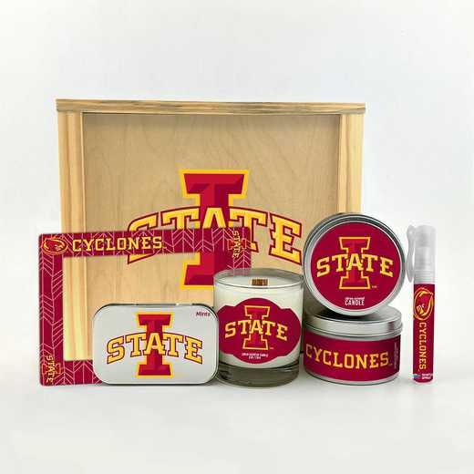 IA-ISU-HWGK: Iowa State Cyclones House-Warming Gift Box (6 Pieces)