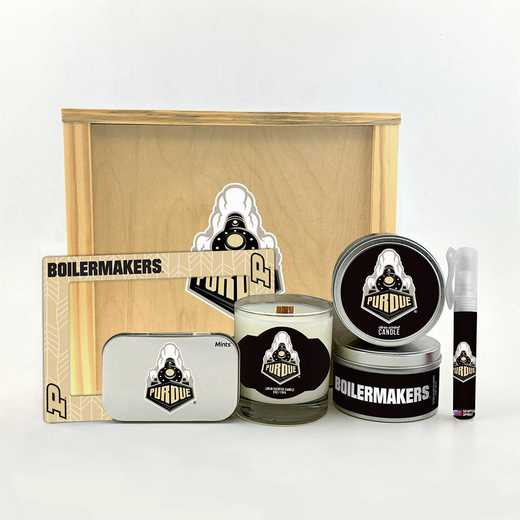 IN-PU-HWGK: Purdue Boilermakers House-Warming Gift Box (6 Pieces)
