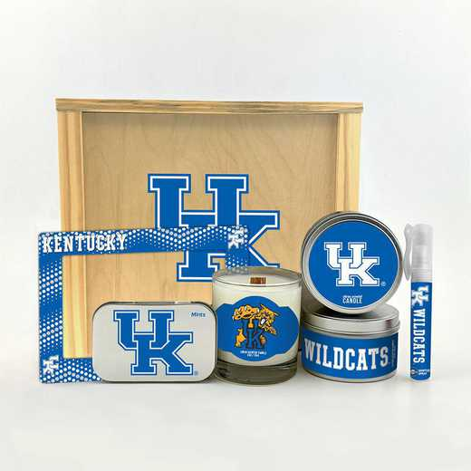 KY-UK-HWGK: Kentucky Wildcats House-Warming Gift Box (6 Pieces)
