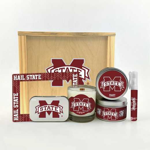 MS-MSU-HWGK: Mississippi State Bulldogs House-Warming Gift Box (6 Pieces)