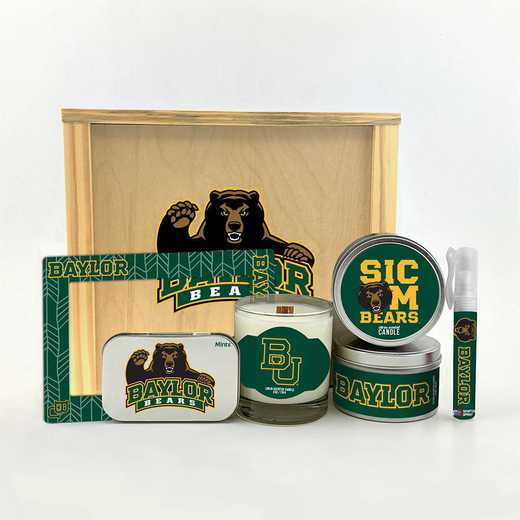 TX-BU-HWGK: Baylor Bears House-Warming Gift Box (6 Pieces)