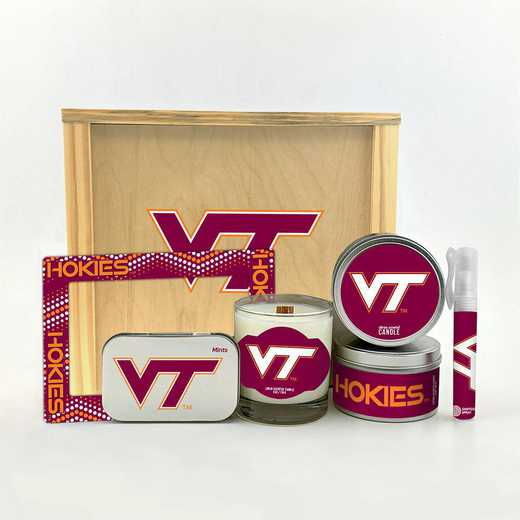 VA-VT-HWGK: Virginia Tech Hokies House-Warming Gift Box (6 Pieces)