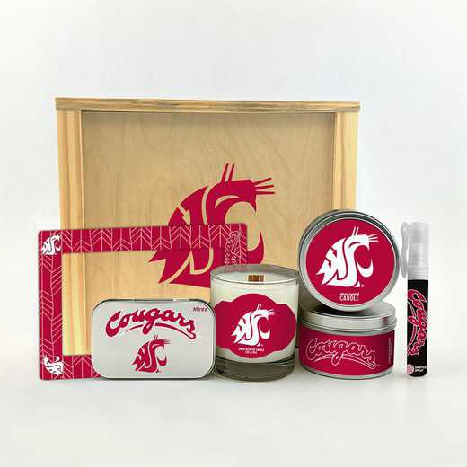 WA-WSU-HWGK: Washington State Cougars House-Warming Gift Box (6 Pieces)