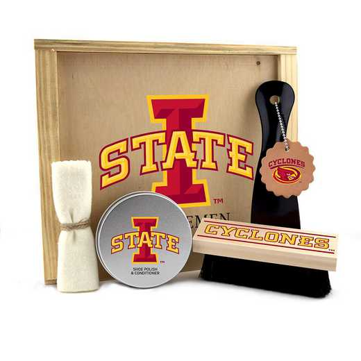 IA-ISU-GK1: Iowa State Cyclones Gentlemen's Shoe Care Gift Box