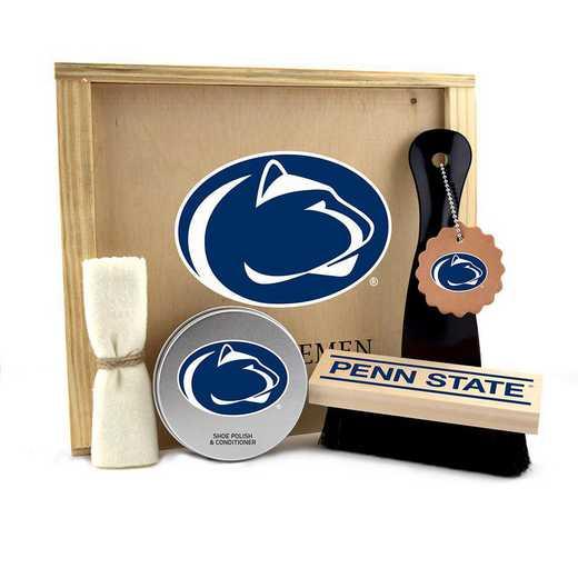 PA-PSU-GK1: Penn State Nittany Lions Gentlemen's Shoe Care Gift Box