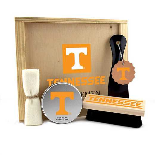 TN-UT-GK1: Tennessee Volunteers Gentlemen's Shoe Care Gift Box