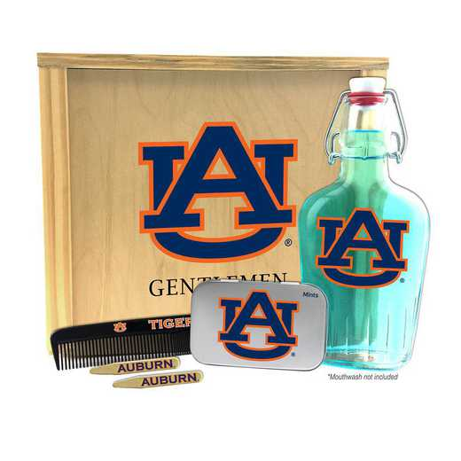 AL-AU-GK2: Auburn Tigers Gentlemen's Toiletry Kit Keepsake