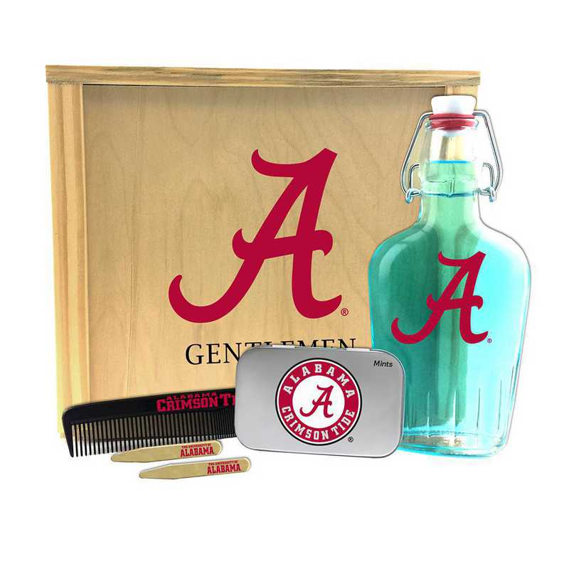 AL-UA-GK2: Alabama Crimson Tide Gentlemen's Toiletry Kit Keepsake
