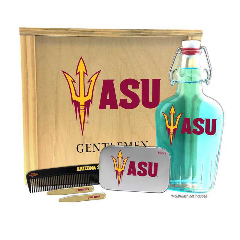 AZ-ASU-GK2: Arizona State Sun Devils Gentlemen's Toiletry Kit Keepsake