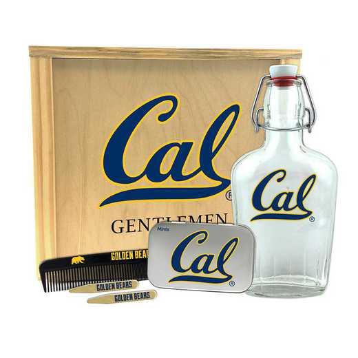 CA-UCB-GK2: California Berkeley Bears Gentlemen's Toiletry Kit Keepsake