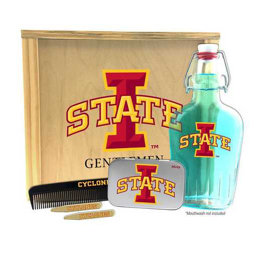 IA-ISU-GK2: Iowa State Cyclones Gentlemen's Toiletry Kit Keepsake