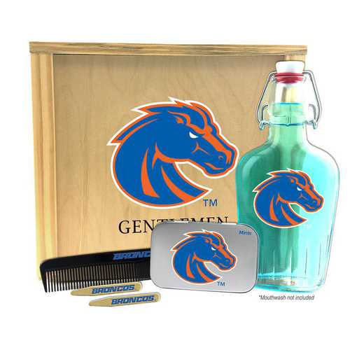 ID-BSU-GK2: Boise State Broncos Gentlemen's Toiletry Kit Keepsake