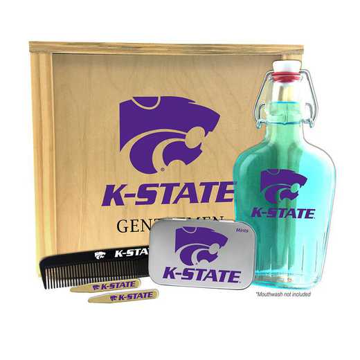 KS-KSU-GK2: Kansas State Wildcats Gentlemen's Toiletry Kit Keepsake