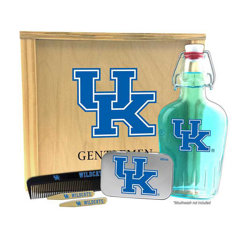 KY-UK-GK2: Kentucky Wildcats Gentlemen's Toiletry Kit Keepsake
