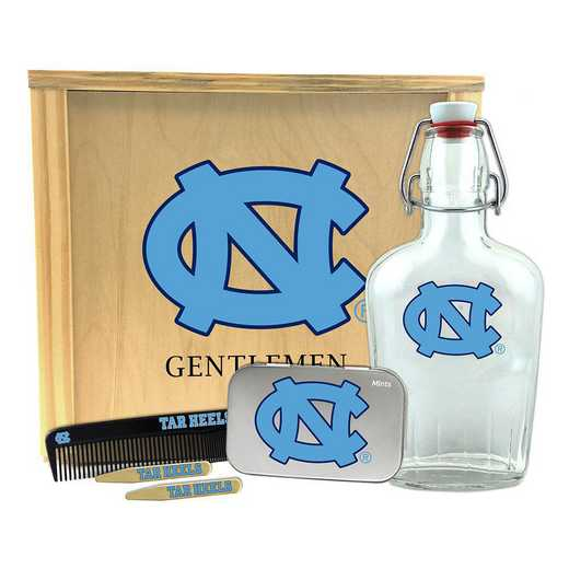 NC-UNC-GK2: North Carolina Tar Heels Gentlemen's Toiletry Kit Keepsake