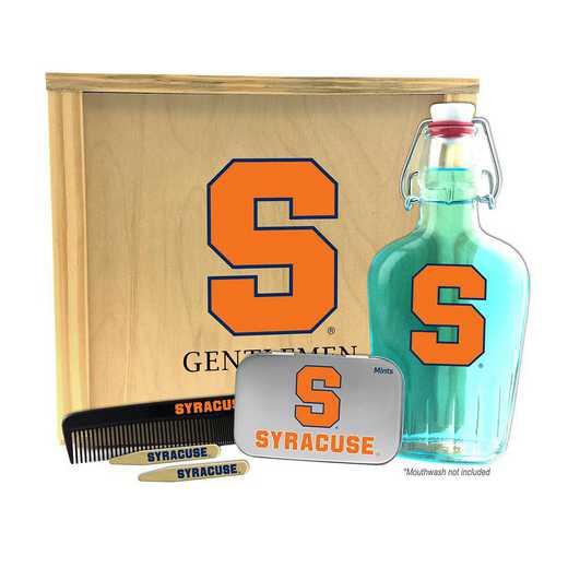 NY-SU-GK2: Syracuse Orange Gentlemen's Toiletry Kit Keepsake