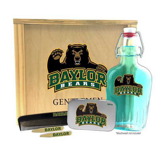 TX-BU-GK2: Baylor Bears Gentlemen's Toiletry Kit Keepsake