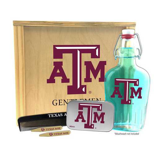 TX-TAM-GK2: Texas A&M Aggies Gentlemen's Toiletry Kit Keepsake