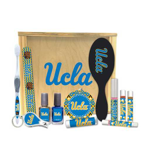 CA-UCLA-WBGK: UCLA Bruins Women's Beauty Gift Box (12 Pieces)