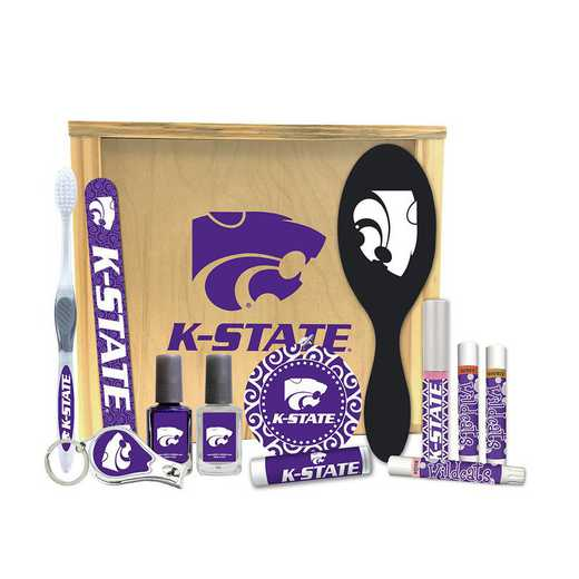 KS-KSU-WBGK: Kansas State Wildcats Women's Beauty Gift Box (12 Pieces)