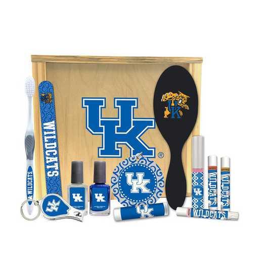 KY-UK-WBGK: Kentucky Wildcats Women's Beauty Gift Box (12 Pieces)