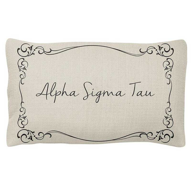 AA3024AST: Alex Co LUMBAR PILLOW ALPHA SIGMA TAU
