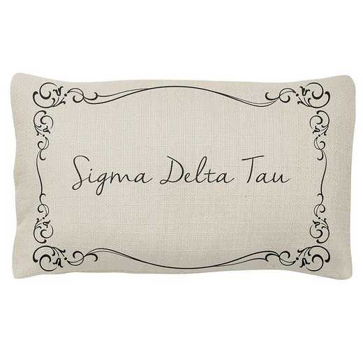 AA3024SDT: Alex Co LUMBAR PILLOW SIGMA DELTA TAU