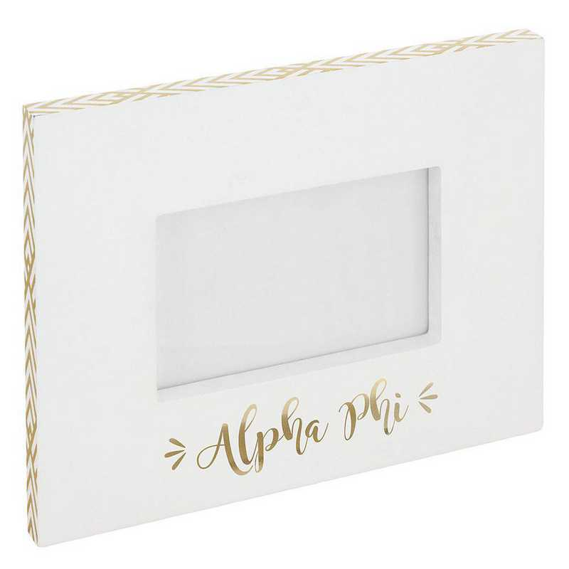 AA3019AP: Alex Co BLOCK FRAME ALPHA PHI