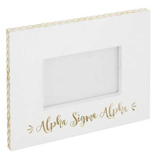 AA3019ASA: Alex Co BLOCK FRAME ALPHA SIGMA ALPHA