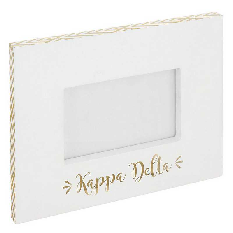 AA3019KD: Alex Co BLOCK FRAME KAPPA DELTA