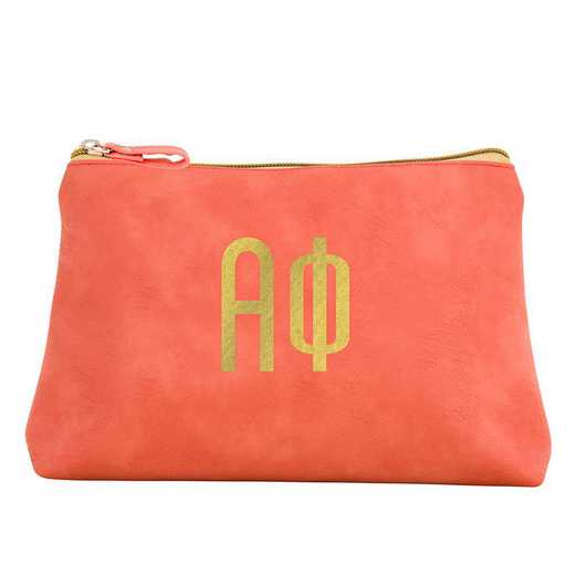 AA3010AP: Alex Co COSMETIC BAG ALPHA PHI