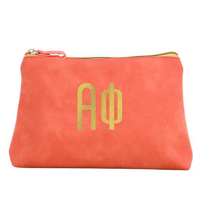 AA3010AP: Alex Co COSMETIC BAG ALPHA PHI