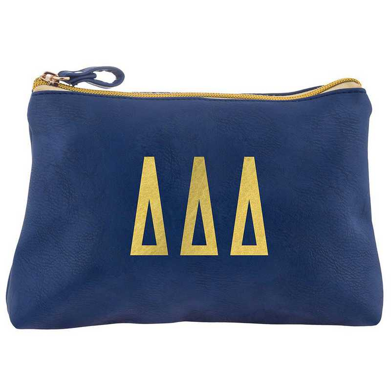 AA3010DDD: Alex Co COSMETIC BAG DELTA DELTA DELTA