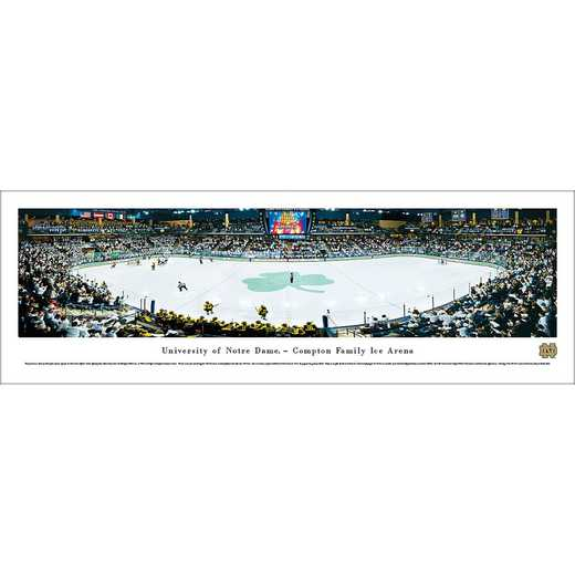 Notre Dame Fighting Irish Hockey - Panoramic Print