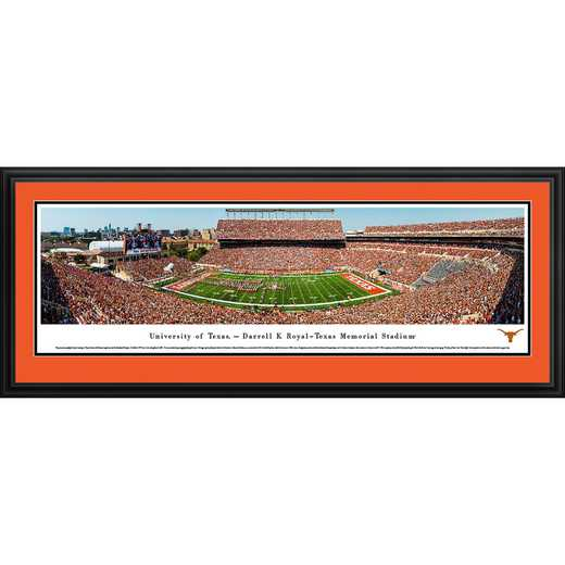 Texas Longhorns Football - Panoramic Print