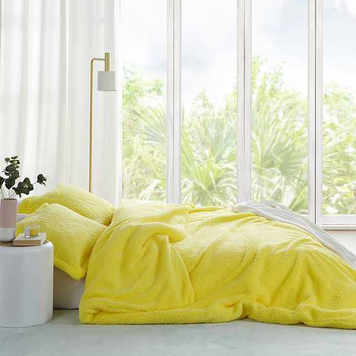 TN-204D-LY-TXL: DormCo Coma Inducer Twin XL Dorm Duvet Cover - The Napper - Limelight Yellow