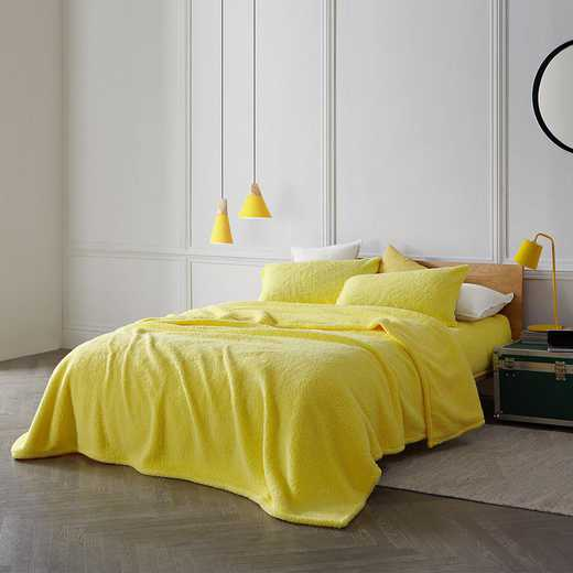 TN-204S-LY-TXL: DormCo Coma Inducer Twin XL Dorm Sheets - The Napper - Limelight Yellow
