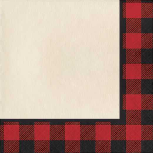 DTC321823NAP: CC Buffalo Plaid Napkins
