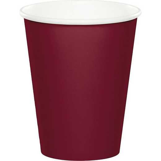 563122B: CC Burgundy Red Cups - 24 Count