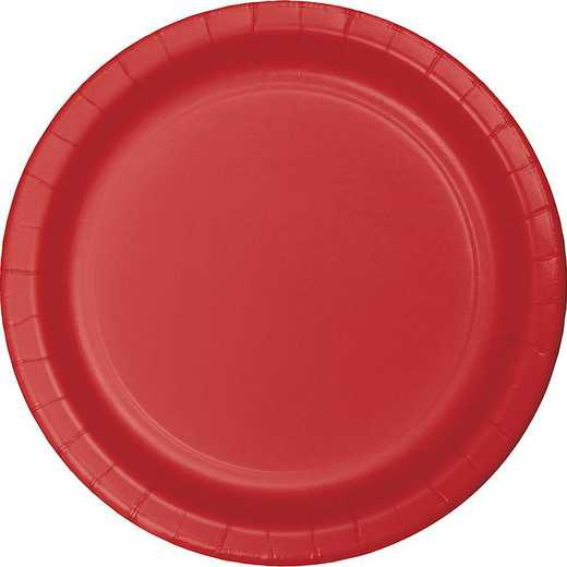 471031B: CC Classic Red Paper Plates - 24 Count
