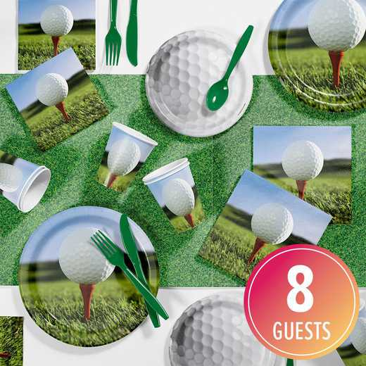 DTC7965C2A: CC Golf Party Supplies Kit 8ct