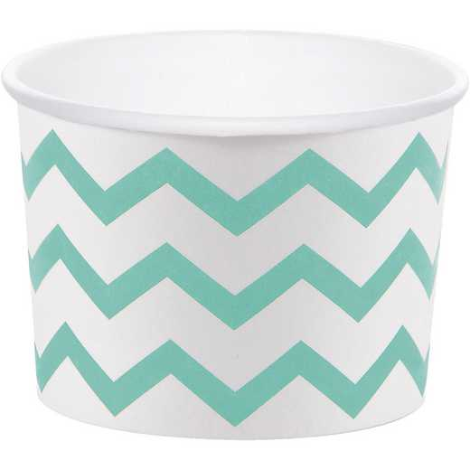 DTC324503TRT: CC Mint Green Chevron Treat Cups