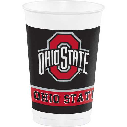 DTC318561TUMB: CC Ohio State University Plastic Cups - 24 Count