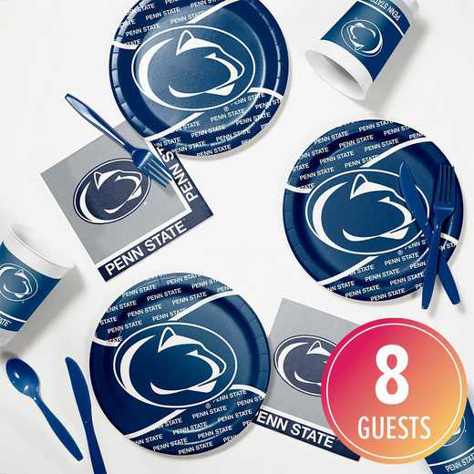 DTC4729C2B: CC Penn State University Tailgating Kit 8ct